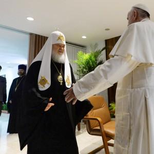 Папа Римский и предстоятель РПЦ