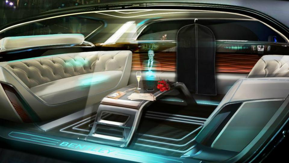 Bentley  с дворецким