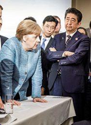 Трамп побил горшки сЕвропой на саммите G7