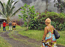 С Гавайев эвакуируют тысячи туристов