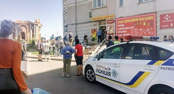 Активисты наказали святошинских бутлегеров