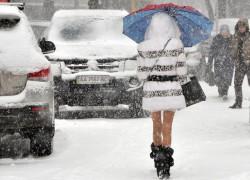 «Киевавтодор» приступил  к уборке в городе первого снега