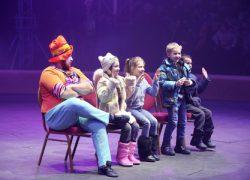 Цирк «Кобзов» поздравил детей с праздником Св. Николая