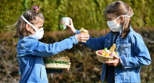 На Пасху мир приблизился к отметке 100 000 смертей от коронавируса