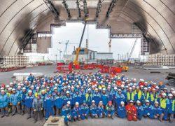 Колпаком за $2,5 млрд., возможно, накрыли пустой и безопасный реактор ЧАЭС