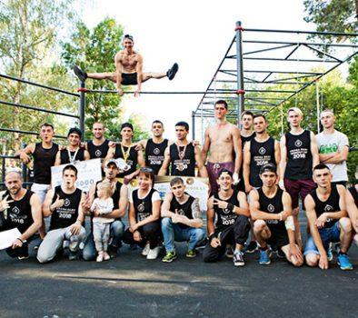 В здоровом теле здоровый дух:  вБроварах прошел турнир поворкауту  Krona Park Workout Сup 2018