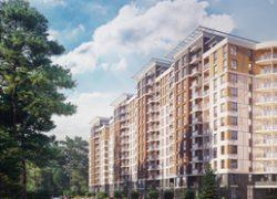 В Броварах жилой комплекс Krona Park «встроят» в лес