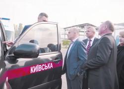 Джипы чиновников стали машинами скорой помощи