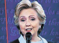 Муха Клинтон завела свой Twitter