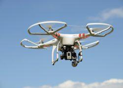 Полиция применяет дроны  для борьбы с заторами