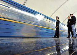 11 турникетов  в киевском метро  заработают  без жетонов