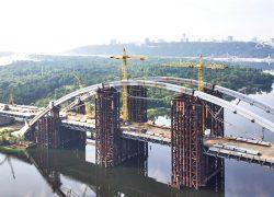 Киев нашел  500 млн  на Подольский мост
