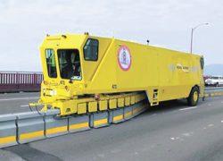 На мосту Патона в Киеве  внедрят систему Road Zipper