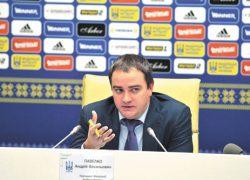 Андрей Павелко извинился за провал нашей сборной во Франции