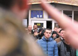 План по осеннему призыву  в Киеве выполнен на 10%